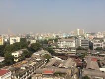 взгляд bangkok стоковое изображение rf