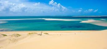 Взгляд Bazaruto тропический Стоковое фото RF