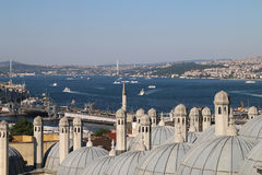 Взгляд Bosphorus (нового) Стоковые Изображения