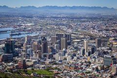 Взгляд Cape Town Стоковая Фотография RF