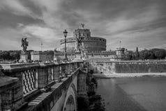 Взгляд Castel Sant'Angelo Стоковое Изображение RF