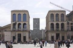 Взгляд del 900 небоскреба и Museo Diaz аркады Стоковые Фотографии RF
