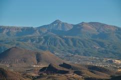 Взгляд El Teide Volcan в Тенерифе Стоковые Изображения
