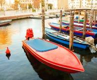 Взгляд fisherboats, Chioggia Стоковое Изображение RF