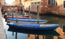 Взгляд fisherboats, Chioggia Стоковая Фотография RF