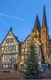Взгляд Gelnhausen, Германии стоковые фотографии rf