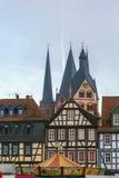 Взгляд Gelnhausen, Германии стоковое фото rf