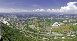 взгляд geneva панорамный Стоковые Изображения