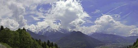 взгляд geneva панорамный Стоковое Фото