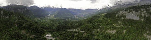 взгляд geneva панорамный Стоковые Фото