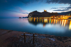 Взгляд Genoese крепости Стоковое Изображение
