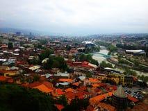 взгляд Georgia tbilisi города Стоковая Фотография
