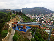 взгляд Georgia tbilisi города Стоковые Изображения RF