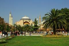 Взгляд Hagia Sophia, Стамбула Стоковые Изображения RF