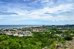 Взгляд Hua Hin неба, Таиланд Стоковое Фото