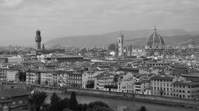 Взгляд II Флоренса panoramatic, Италия Стоковое Изображение RF