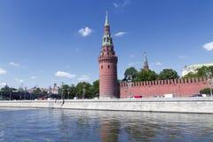взгляд kremlin moscow России Стоковое Изображение