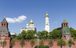 взгляд kremlin moscow России Стоковые Фото