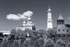 взгляд kremlin moscow России Стоковое Фото
