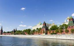 взгляд kremlin moscow России Стоковое фото RF