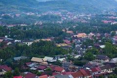 Взгляд Luang Prabang Стоковые Изображения RF