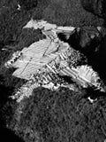 Взгляд Machu Picchu от Huayna Стоковые Изображения RF