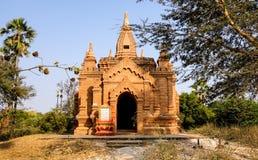 Взгляд Mahamuni Stupa на зоне виска Bagan в Bagan, Мьянме Стоковое Изображение
