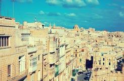 взгляд malta valletta malta стоковая фотография rf