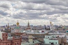 взгляд moscow панорамный Стоковые Изображения RF