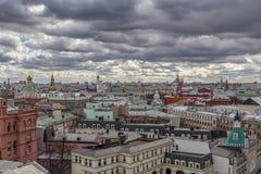 взгляд moscow панорамный Стоковое Изображение RF