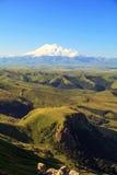 Взгляд Mount Elbrus Стоковое Изображение