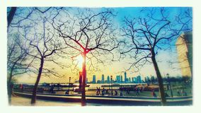 Взгляд NYC Стоковое Изображение RF