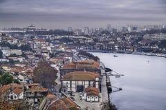 Взгляд Oporto стоковые изображения rf