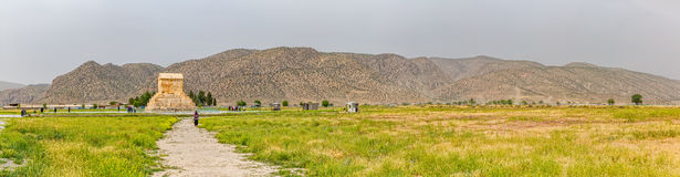 Взгляд Pasargad панорамный Стоковые Фото