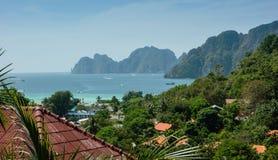 Взгляд Phi Дон Phi острова, Таиланда Стоковое Изображение