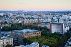 Взгляд platz Potsdamer над Берлином, Берлином, Германией Стоковые Изображения RF