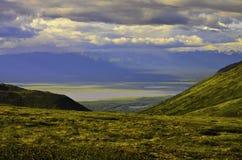 Взгляд River Valley Стоковая Фотография