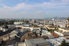 взгляд salzburg Стоковое Изображение RF