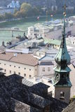 взгляд salzburg Стоковые Фотографии RF