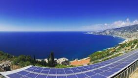Взгляд Sanremo Ligure Италии славный стоковое фото rf