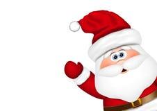 Взгляд Santa Claus от стороны бесплатная иллюстрация