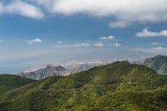 Взгляд Santa Cruz в Тенерифе, Испании Стоковые Изображения RF