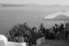 Взгляд santorini Стоковое Изображение RF