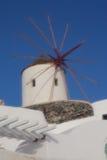 Взгляд santorini Стоковое Фото
