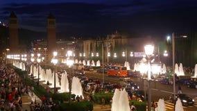 взгляд seville Испании площади керамики de детали espana типичный видеоматериал