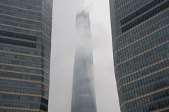 взгляд shanghai Стоковое фото RF