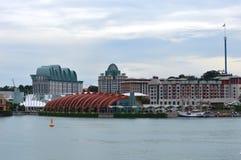 взгляд singapore sentosa острова Стоковые Изображения