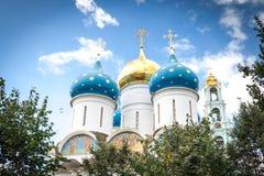 взгляд smolensk собора предположения Стоковые Фото