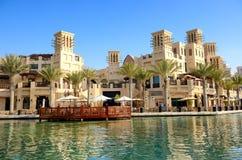 Взгляд Souk Madinat Jumeirah стоковое изображение rf