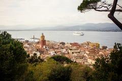 Взгляд St Tropez стоковая фотография rf